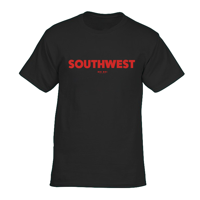 Southwest tee - black