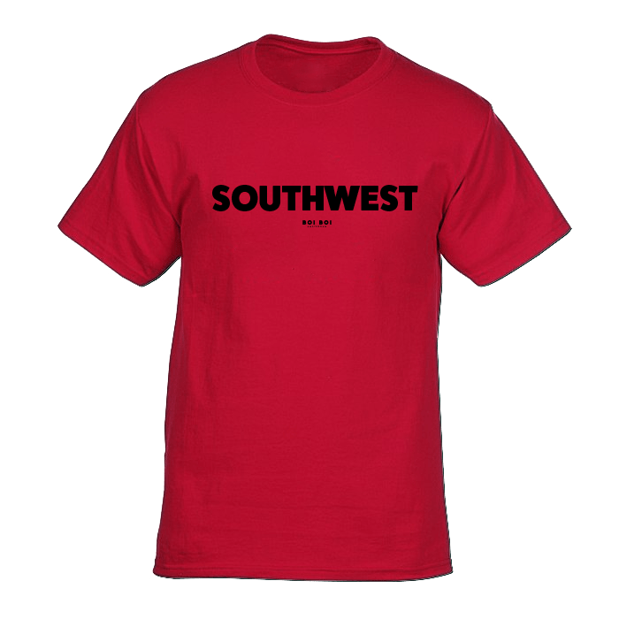 Southwest tee - red