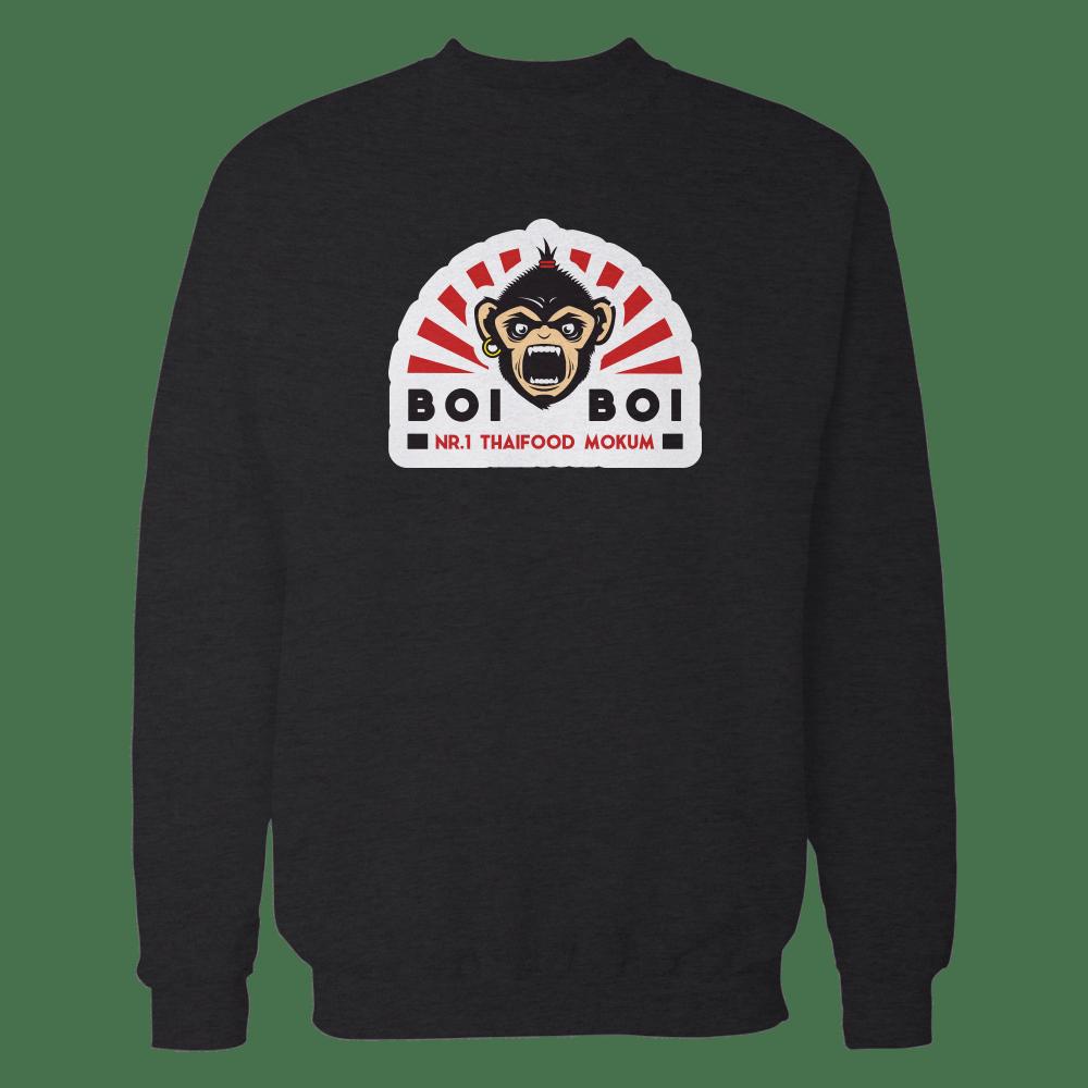 Boi Boi full logo Sweater Black