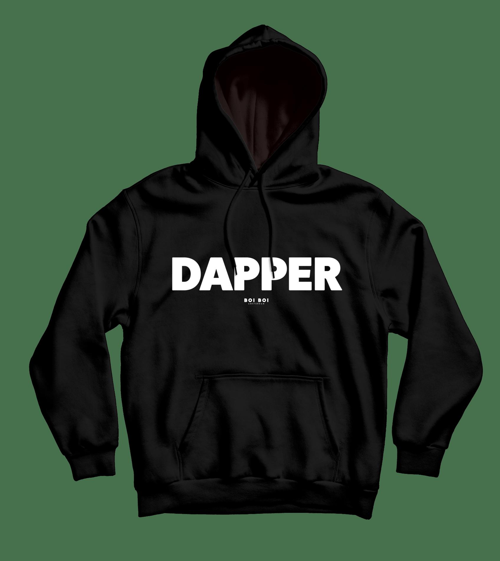 Dapper Hoodie Black