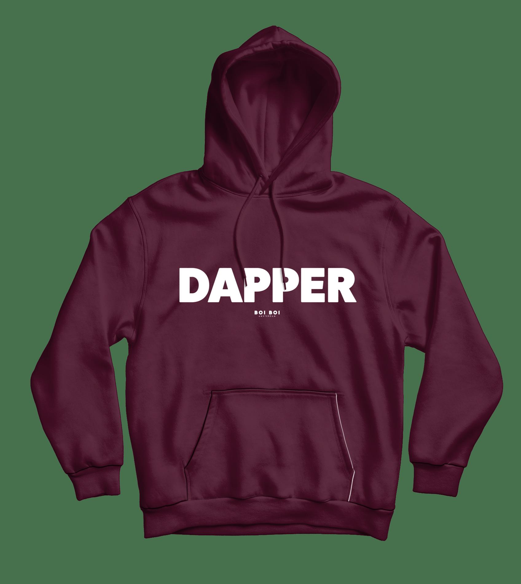 Dapper Hoodie Burgundy