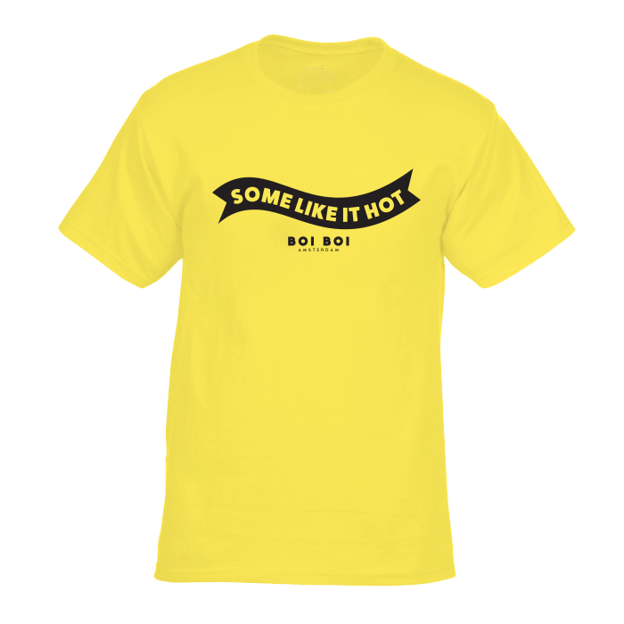 Some Like It Hot Tee Yellow