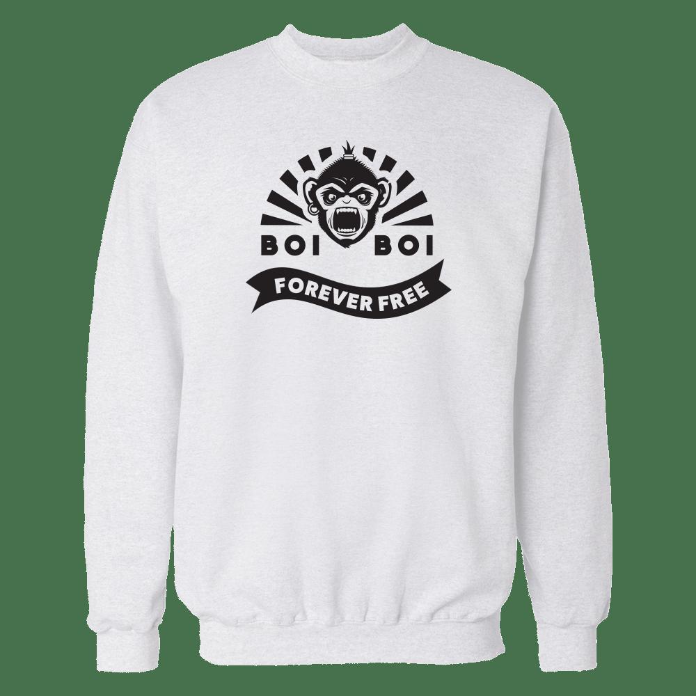 Forever Free Sweatshirt White